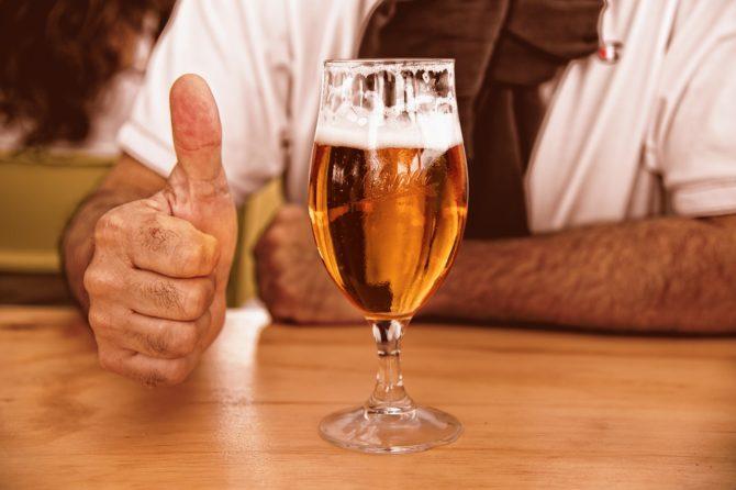 Zonder zorgen een alcoholvrij biertje?